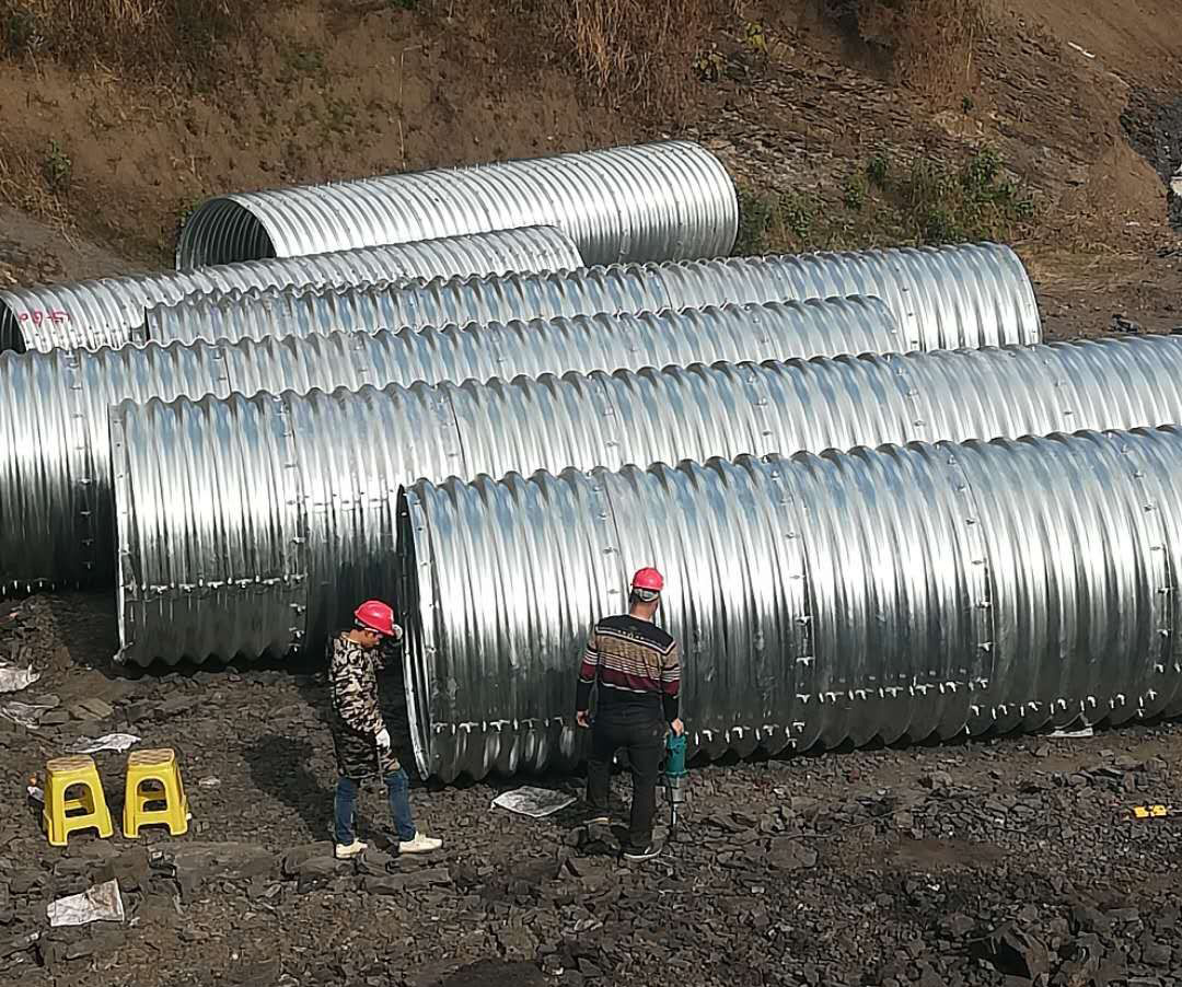 江能金属制品提供钢波纹管生产!