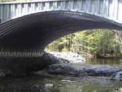 钢波纹结构拱桥
