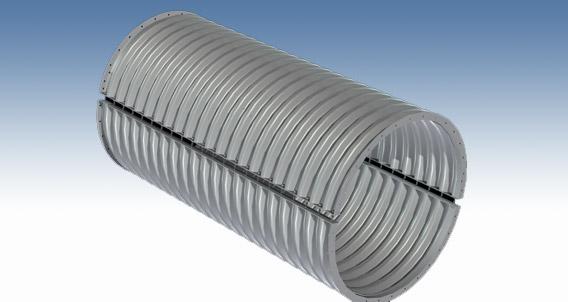 两片装镀锌波形钢管涵